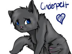 Cinderpelt:Was a better choice for Firestar then Sandstorm and deserved a mate. She is the best medicine cat ever