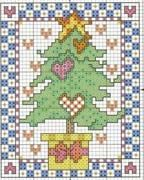 Schema punto croce Cartolina 18
