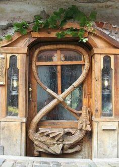 Door in Prague