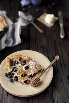 Blueberry dutch pancake -- must try this! #recipe