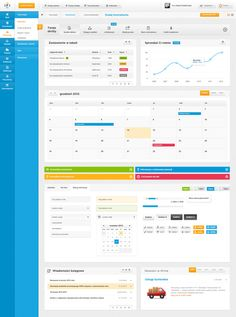 dashboard, ui ifirma - web application by tomek tuz, via Behance ----BTW, Please Visit: http://artcaffeine.imobileappsys.com