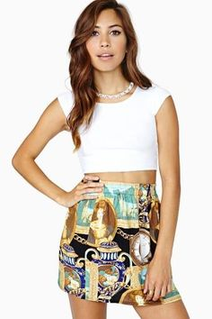 Renaissance Hour Skirt #vintage #nastygalvintage