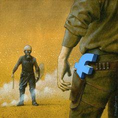 Pawel Kuczynski y la sátira social | No me toques las Helvéticas | Blog sobre diseño gráfico y publicidad