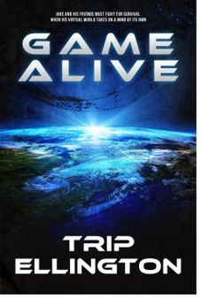 http://bookbarbarian.com/game-alive-by-trip-ellington/ In the near future, virtual reality games are indistinguishable from the real world. Players can take on the role of a star quarterback or rule as the king of a virtual kingdom.Thirteen-year-old Jake prefers to spend his free time building Xaloria, a virtual world he created from scratch where he and his two best friends, Des and Kari, spend their afternoons completing quests and collecting treasure.   However, all in X