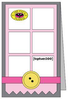 cute TCP card sketch