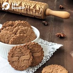 Bake the most perfect Christmas Cookies this year with our amazing Christmas Embossing Rolling Pin. Wooden Christmas cookie embossing rolling pin is perfect for cookies, pies, and fondant. Christmas Moose, Christmas Cookies, Christmas Presents, Merry Christmas, Christmas Decorations, Cheap Christmas, Christmas Kitchen, Xmas Ornaments, Christmas Design