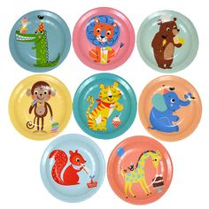 Party Animal Paper Plates