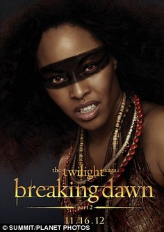 Breaking Dawn part 2 Tracey Heggins as Senna
