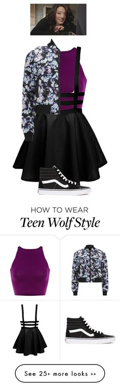 """Kira , Teen Wolf , inspired"" by twpickle96 on Polyvore featuring Vans and Alexander Wang"