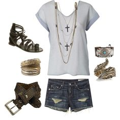 """""""casual"""" by brandy-michelle-ott on Polyvore"""