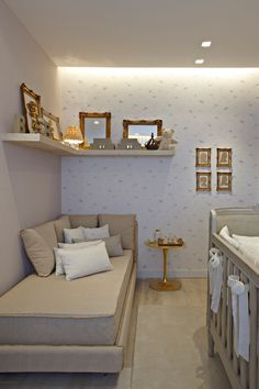 Referência de dormitório bebê - ESSA Arquitetura
