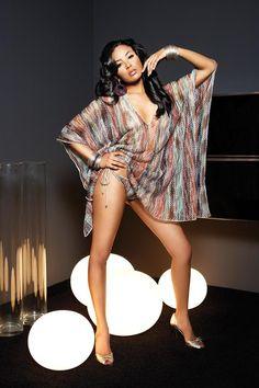 Black girl mini skirt high heels porb