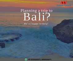 Planning a trip to Bali? Call 9205056473 Friends Travels Deal.
