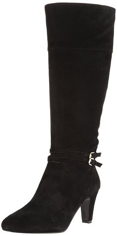 Bandolino Women's Wiser Suede Riding Boot *** You can get additional details at the image link.