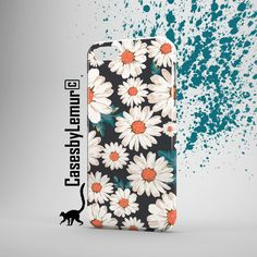 DAISY Iphone 6 Case Hipster Iphone 6 Plus Case Daisy Print phone case Grunge Iphone 5 Case Vintage Iphone Case Flowery Girly Gifts