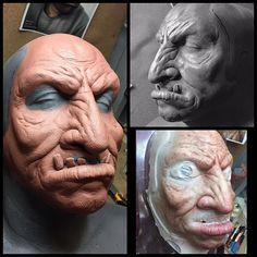 AutonomousFX-@jcollinsmakeup GoDaddy Superbowl commerical 2017 Oger facial sculpt and prepaint only @ekoostudio #autonomousfx #specialmakeupfx #creatureeffects #ekoostudio #prosthetics #silicone #makeup #horror #specialeffects #tvshow #sculpt #fxmua #spfx #spfxmakeup #undead #film #specialmakeupeffects #sculpt #fxmua #spfxmakeup #clay #sculptures #makeupartist #superbowl #commercial #oger