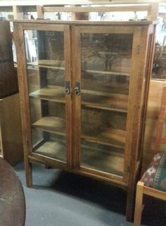 Beautiful Double Door China Cabinet Inventory No. A 1049: $595.00