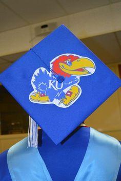 Graduation cap, Kansas University theme
