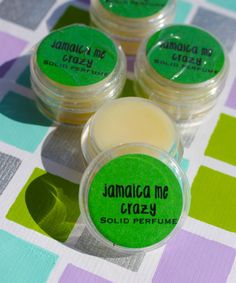 NEW Jamaica Me Crazy Solid Perfume by daisycakessoap on Etsy, $4.00