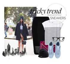 """""""Pencil Skirt On The Street"""" by alexarramirez on Polyvore featuring River Island, ALDO, adidas and Coal"""