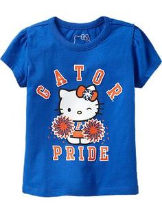 Hello Kitty® College Team Tees for Baby (Gator Pride) $16.94
