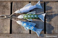 Fisch, nähen, Stoff, Fish, sewing, fabric