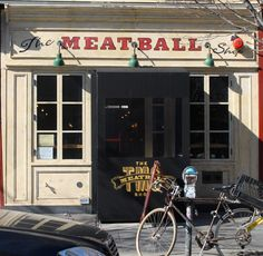 the Meatball Shop in Brooklyn, on Stanton between Orchard and Allen