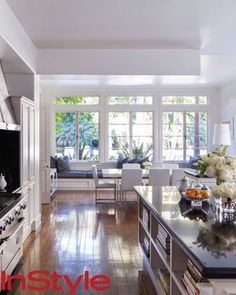 The Kitchen - Look Inside Rachel Zoe's Chic Home - What's Right Now - Fashion - InStyle