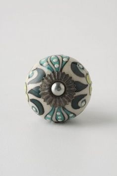 Elevated Zinnia Knob  - eclectic - knobs - other metro - Rebekah Zaveloff