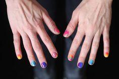 Introducing the DIY Sponge Manicure via Brit + Co.