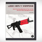 LEGO Heavy Weapons-Ever wanted to own a Desert Eagle or assault rifle but don't want the worry that can come with firearm ownership? Build your own using LEGO Heavy Weapons