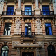 Alberta Street in Riga.