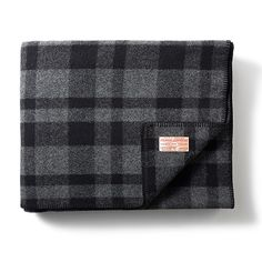 Filson Mackinaw Blanket -- the ultimate blanket for sitting outdoors on the patio