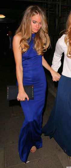 Cressida Bonas Doesn't Get Mad At Prince Harry, She Gets Even In Body-Hugging Gown