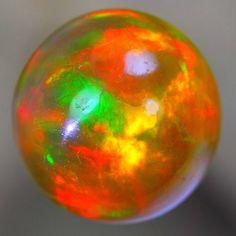 Neon Broadflash Color Ethiopian Fire Opal OP1430