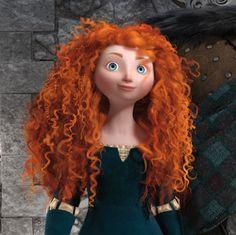 Merida disney makeover princess