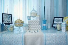 Baby Shower - Popcorn Bar