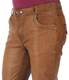Pantalon Cuir Homme La Canadienne
