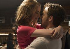 Ryan Gosling and Emma Stone in La La Land #LaLaLand #Movie