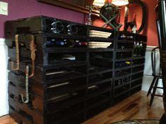 Dining Room Wine Shelf Pallets