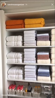 I suggest much more details on Bathroom Closet Ideas Bathroom Closet Organization, Bathroom Organisation, Dresser Drawer Organization, Underwear Organization, Room Decor Bedroom, Diy Room Decor, Organizar Closet, Linen Cupboard, Ideas Para Organizar