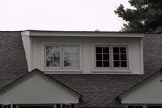 When extra space is needed upstairs, the easiest solution is often to add a wide shed dormer. From the exterior, however, these dormers can sometimes look overwhelming. Grouping the windows adds a welcome bit of variety to the design, and it has a practical benefit: If you want to divide the space behind the windows into two rooms, there's a place for a wall.