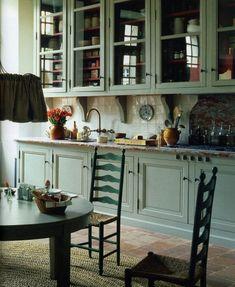 Kitchen in Fank Brenninkmeyer's Chateau in Southwest France