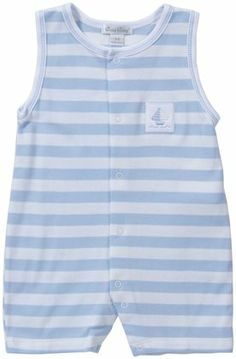 4ff2ed5f3df Kissy Kissy  Mainsail  Short Playsuit (Baby) - Free Shipping  playsuit   stripes  pima