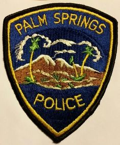 3rd Issue Shoulder Patch Florida Winter Garden Police