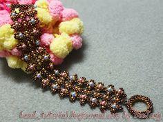Pattern bijoux: Bracciale Evelina