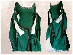 * Anfertigung *  Gewand Kleid Mittelalter LARP - love the dress!