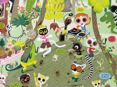 Marc Boutavant, Mouk Character Concept, Concept Art, French Artists, Animal Party, Creative Kids, Childrens Books, Pop Art, Graphic Art, Kids Room
