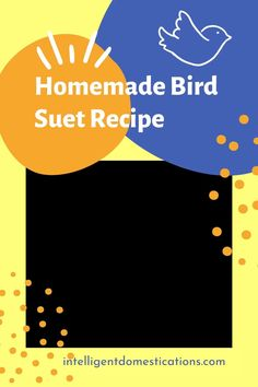 An easy recipe for Bird Suet Cake you can make in a few minutes at home. Freeze them so you can feed the birds all winter. This is a good recipe to teach the kids for a home school project or Grandma camp. CLICK the blog name above for the recipe. #feedthebirds #birding #grandmacamp #birdfoodrecipe Bird Suet, Bird Seed Feeders, Diy Bird Feeder, Great Backyard Bird Count, Backyard Birds, Christmas Desserts Easy, Simple Christmas, Suet Recipe, Suet Cakes