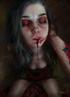 ArtStation - lildeath, Elena Sai
